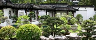 Китайский сад – гармония инь и янь (инь-ян). Принцип создания китайского сада