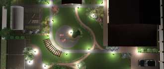 Декоративная подсветка сада. Советы по организации садового освещения